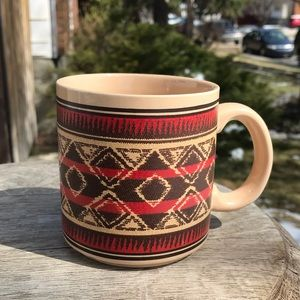 RALPH LAUREN CHAPS vintage ceramic coffee mug